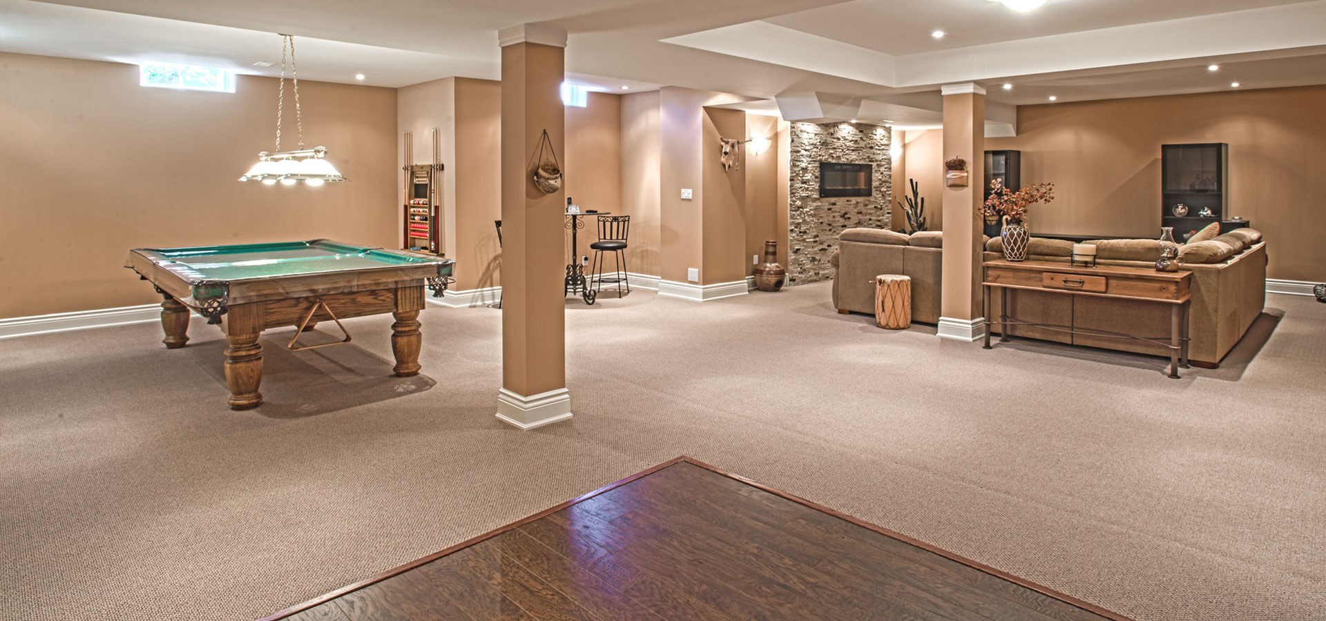 Vaughan basement renovation